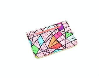 Leather Oyster Card Holder, Credit Card Holder, Travel Wallet, Business Card Holder, Credit Card Wallet, Glitter Purse