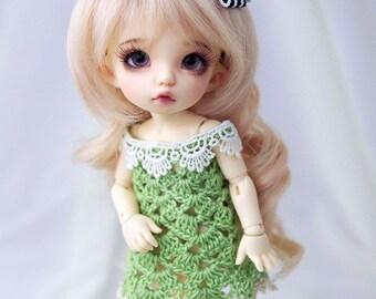 Green dress for PukiFee, Lati Yellow