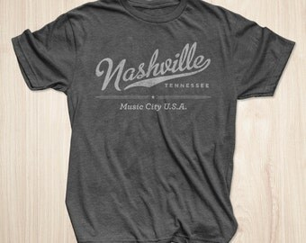 Nashville Shirt in Heather Charcoal