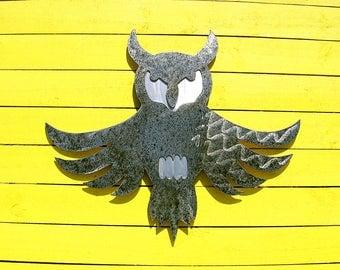 Owl Metal Art Outdoor Metal Wall Art Sculpture