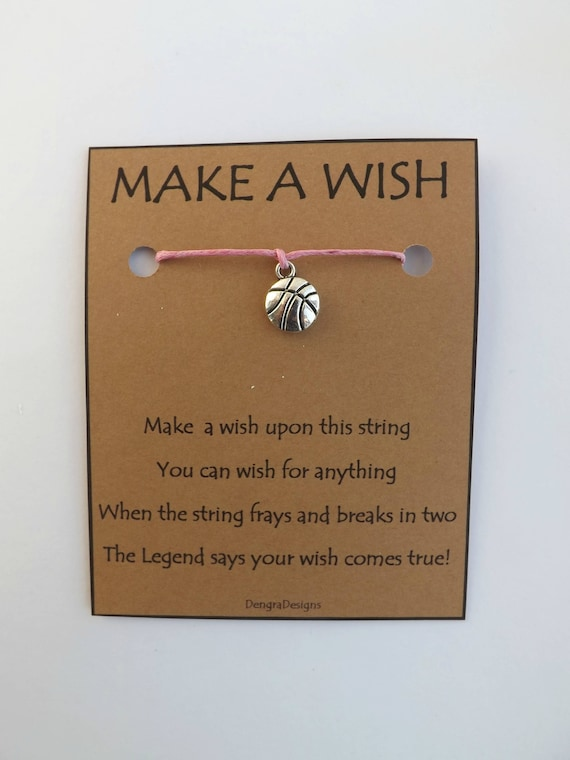 Basketball Wish String