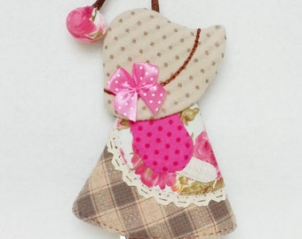 Lovely Girl Keycover, Keychain, Keycover