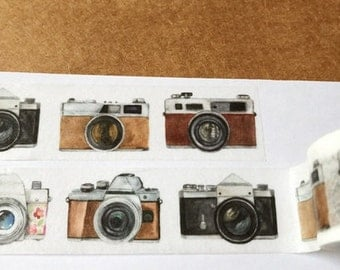Camera Washi Tape (20mm X 5M)