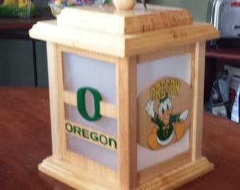 Oregon Ducks Lantern