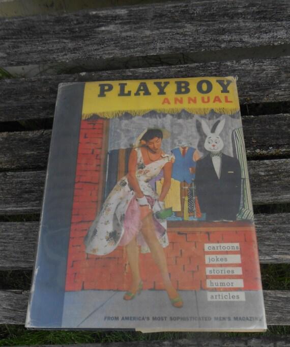 Vintage PLAYBOY Book 1956. EXPLICIT WARNING Vintage Home