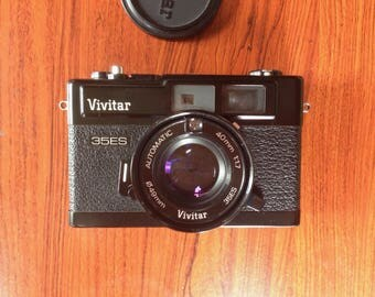 Vivitar 35ES Rangefinder Camera, Excellent like New, Tested and Working