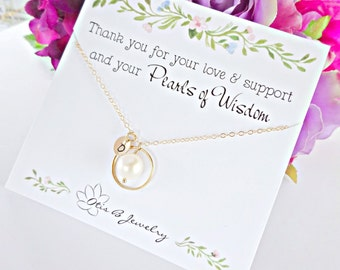 Mother of the bride gift, mother of the groom, pearl necklace for mom, mothers day gift, wedding gift for mother in law, eternity, otis b