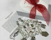 Armor of God Charm Bracelet, Faith Jewelry, Witness Jewelry, Christian Jewelry, Full Armor of God, Bible Study, Charm Bracelets, Best Seller
