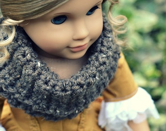 Doll Scarf Cowl for American Girl 18 inch doll