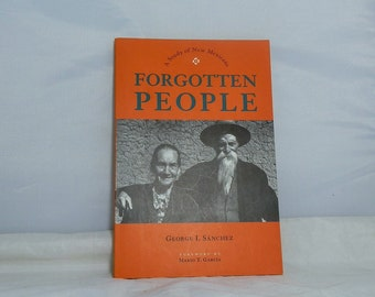 Collectible Softcover Book Forgotten People A Study of New Mexicans A 1996 Reprint of the 1940 edition Scarce Volume DanPickedMinerals