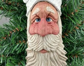 Butternut Whimsical Santa Ornament/Shelf Sitter