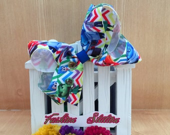 4 inch  Inside Out Cute bow for babies, toddlers and big girls ~