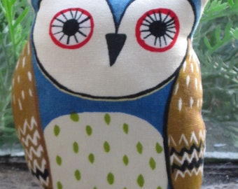 Cute Printed Owl Pin Cushion (1)