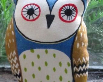 Cute Printed Owl Pin Cushion (1)