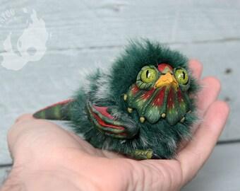 PREORDER - Green Cockatrice Chick
