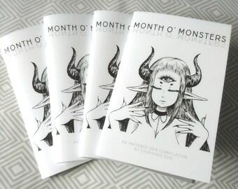 Month O' Monsters Inktober 2016 Zine