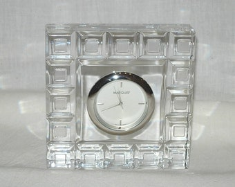 Crystal Clock Etsy