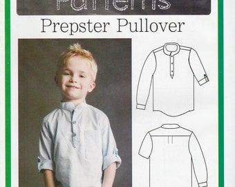Childs Shirt Pattern Blank Slate F740 Sizes 18 months to 8  Uncut
