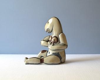 Vintage Sten Lykke Madsen Art Pottery Sculpture for Bing & Grøndahl