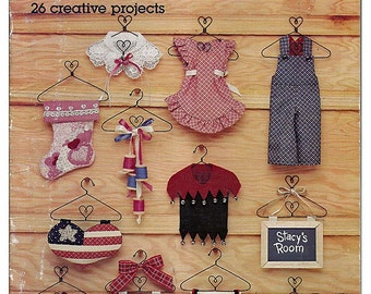 Decorate With Little Hangers Sewing Craft Pattern Book American School of Needlework 8817