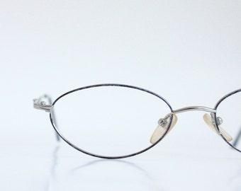 Vintage Plum Wire Eyeglass Frames