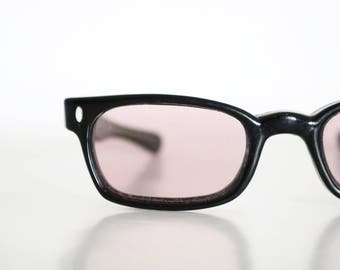 Vintage 60's Black Sunglass Frames