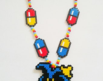 Dr. Mario Virus Kandi Necklace