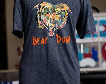 Chicago Bears Down Football tee