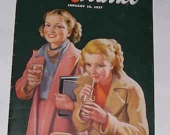 1937 Coca Cola Publication, The Red Barrel
