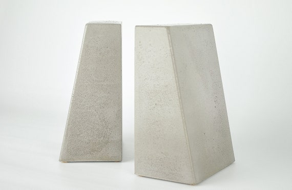 Bookends Concrete  Bookends Modern  Bookends Heavy  Office. Viscount White Granite. Painting Kitchen Cabinets Before And After. Rustic Side Table. Wall Art For Living Room. Bookcase On Wheels. Basement Railing. Mosaic Countertop. Cabinet Feet