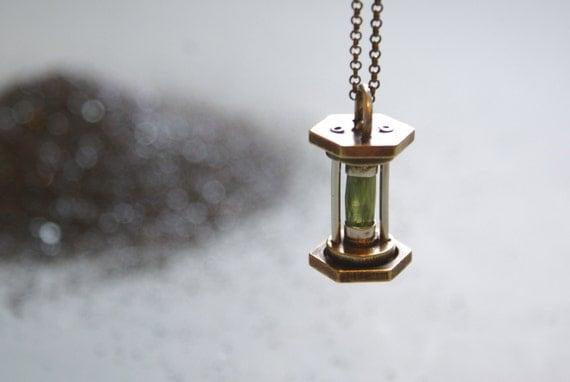 Lantern Hourglass -  Sapphire