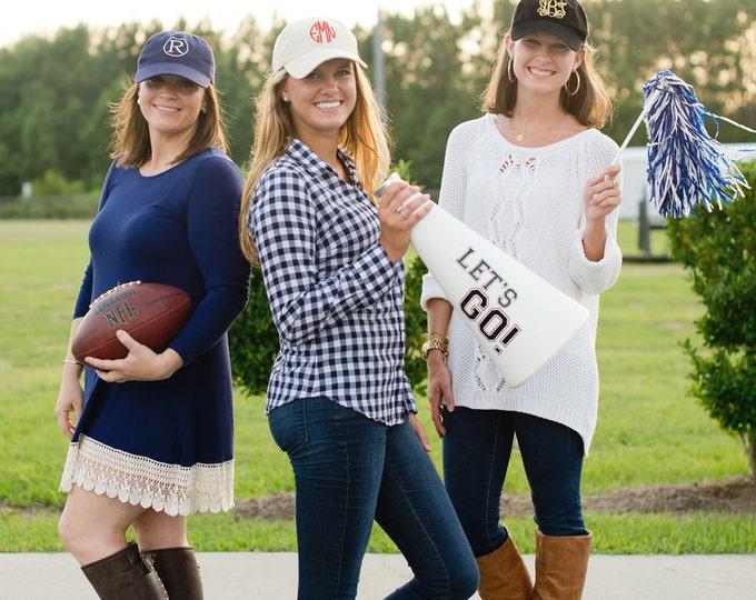 Monogrammed Baseball Cap, Monogrammed hats, Women's Baseball Caps, Monogrammed Gifts, Bridesmaid gifts, Sorority Sister Gifts