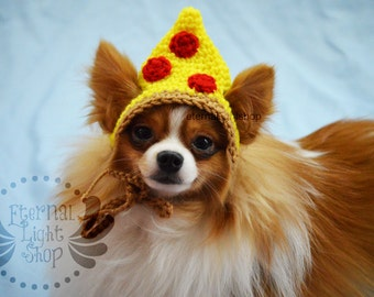ANY Sizes/Colors Pet Pizza Slice Hat Beanie (XS-XL)