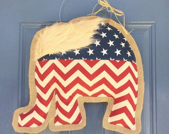 Trump Door Hanger