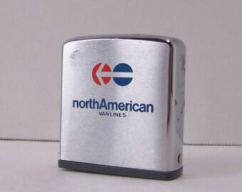 Vintage North American Van Lines Tape Measure.Vintage Zippo Tape Measure.Zippo Manufacturing Co.Vintage Tape Measure.Free Shipping U.S.