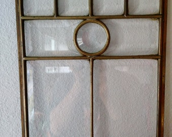 Sun catcher --- Stained Glass Clear Beveled Panel