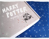 Harry Potter theme Mystery box - Lucky dip - I like cats - Harry Potter - Fan Art - grab bag - cat gift - mixed box - Limited edition