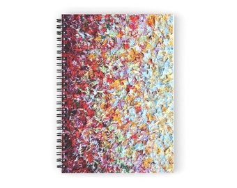 Spiral Notebook, Notepad Desk Accessories, Pretty Journal, Cute Journal, Memo Pad, Small Notebook, Diary, Lined Writing Pad, Ruled Paper