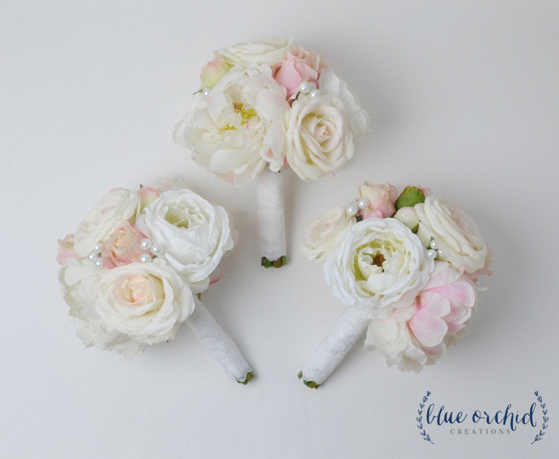 Wedding Flowers Bridesmaid Bouquet Silk