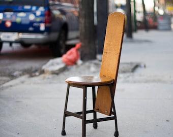 Vintage Repuropsed Stool/ Chair