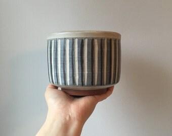 Tootelian Ceramic Planter - Mid Century Studio Pottery - Peg Tootelian