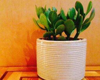 vintage pottery planter Mid Century