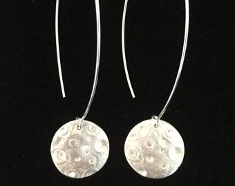 Boho Full Moon Long earrings