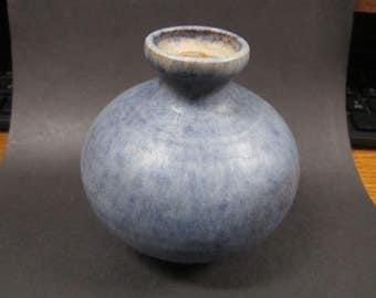 Arts & Crafts pottery Vase Signed Anton Lang