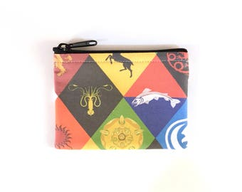 LIMITED SUPPLY - Game of Thrones Coin Purse - Coin Bag - Pouch - Accessory - Gift