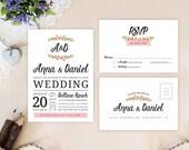 Simple wedding invitation...