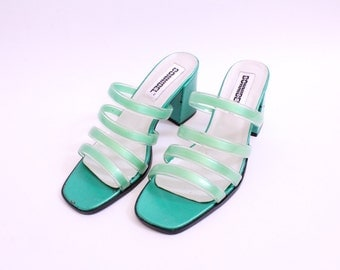 Club Lime 90s Strappy Sandals