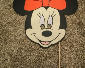 Minnie Mouse Paper Mask Child Size
