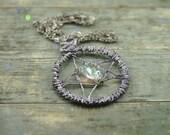 Wiccan pentagram necklace...
