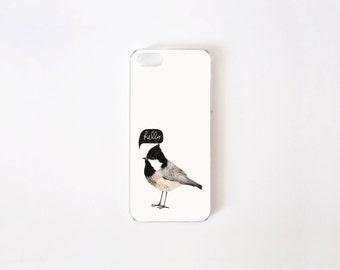 Hello Birdie iPhone SE Case - iPhone 5 Case - Illustration iPhone 5s Case - Little Bird iPhone Case - Hello iPhone Case - iPhone Case 5